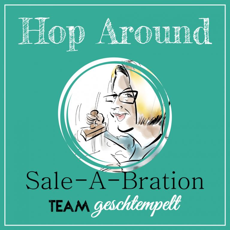 "Blog-Hop Team ""Geschtempelt"" Valentinsverpackung mit Eseln"