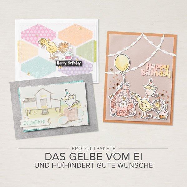 """Nur für kurze Zeit: """"Das gelbe vom Ei"""" und """"Hu(h)ndert gute Wünsche"""""""