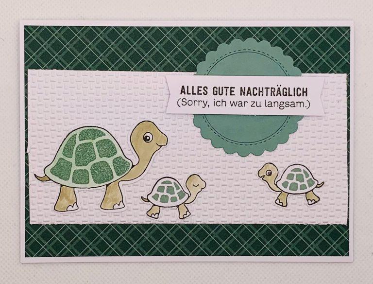 """""""Chill-Kröten"""" – ein neues Stempelset aus dem Jahreskatalog von Stampin`Up!"""